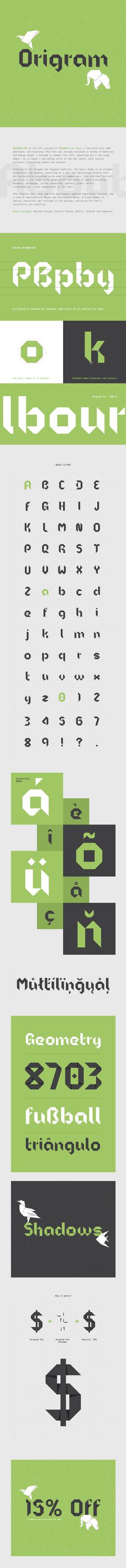 Origram Pro Font by NunoDias