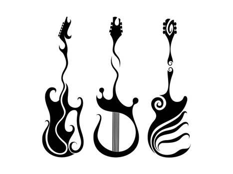 Guitars Tattoos