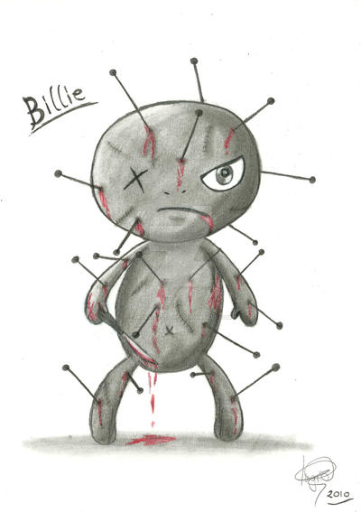 Billie Voodoo Dolls Series by MissArtistsoul