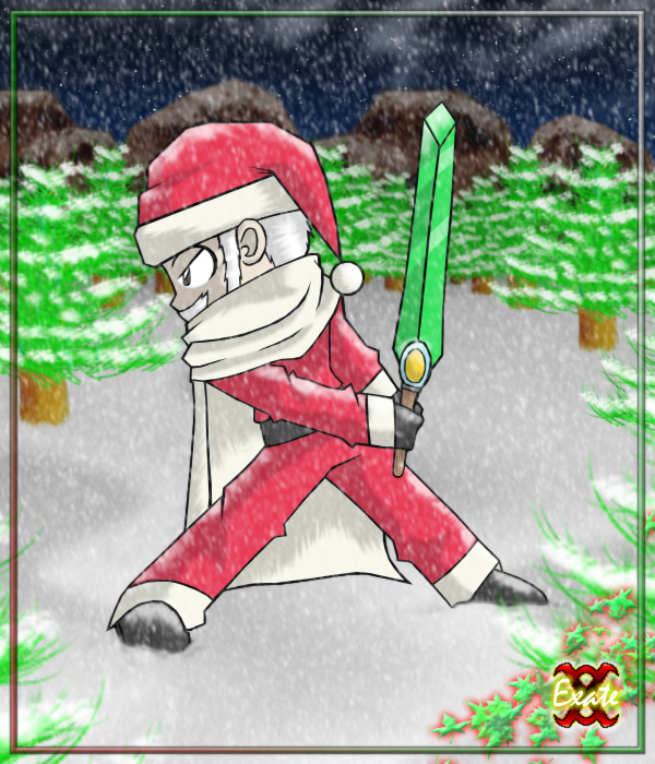 Chibi Exater Claus By Exate On Deviantart