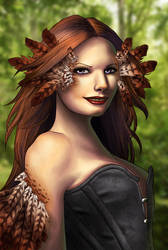 Daughter of Leda by ChiffonSigh