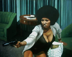 Pam Grier by Areeez