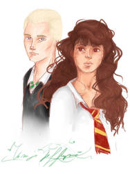 Dramione by normaer