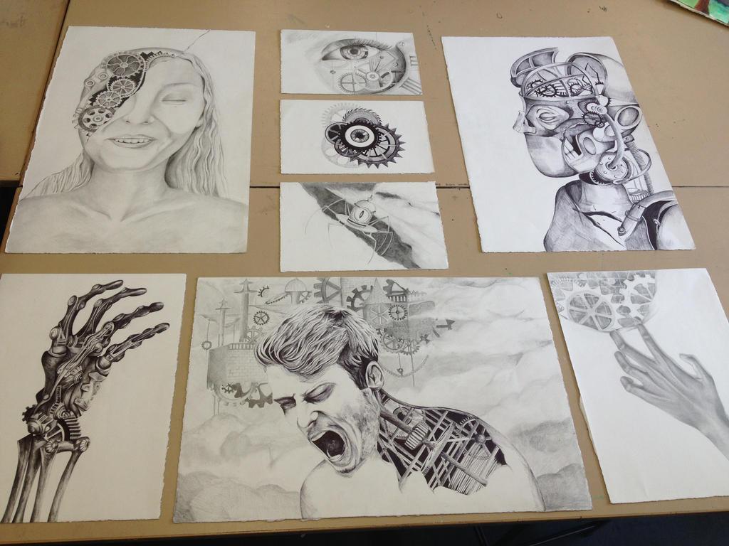 year visual arts major work by vidionart on year 12 visual arts major work 2013 by vidionart