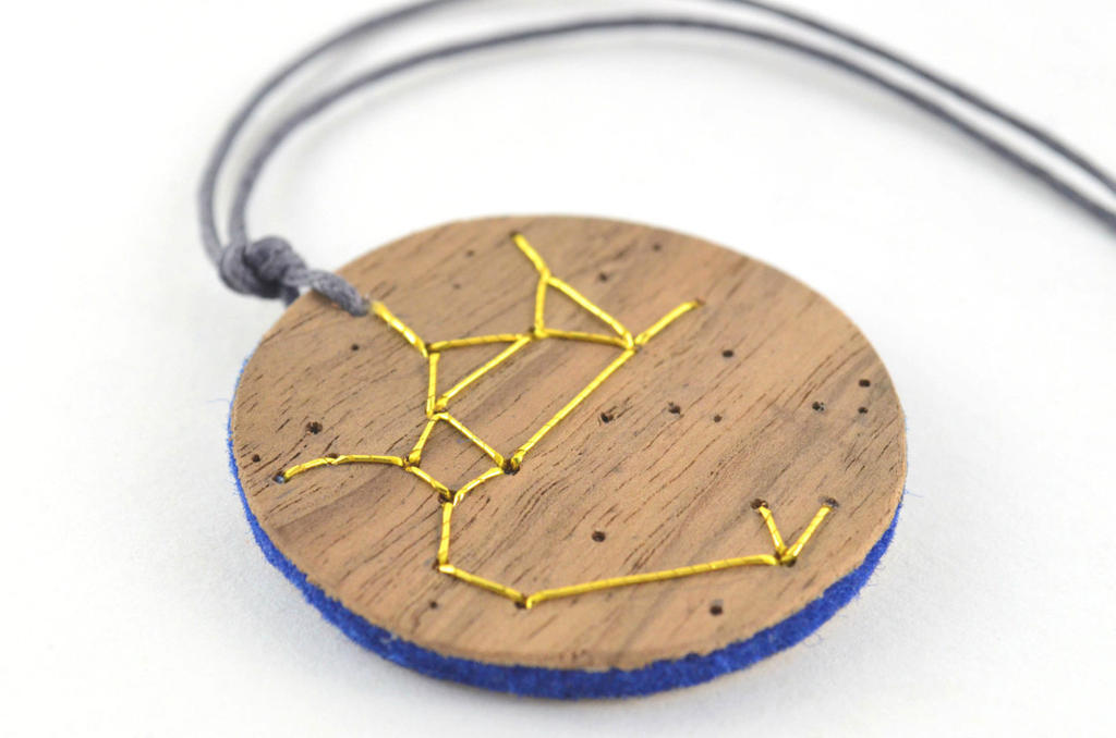 Sagittarius Constellation Pendant by Amaltheea
