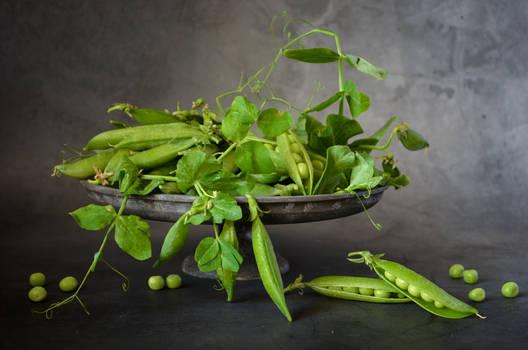 Still Life with Peas