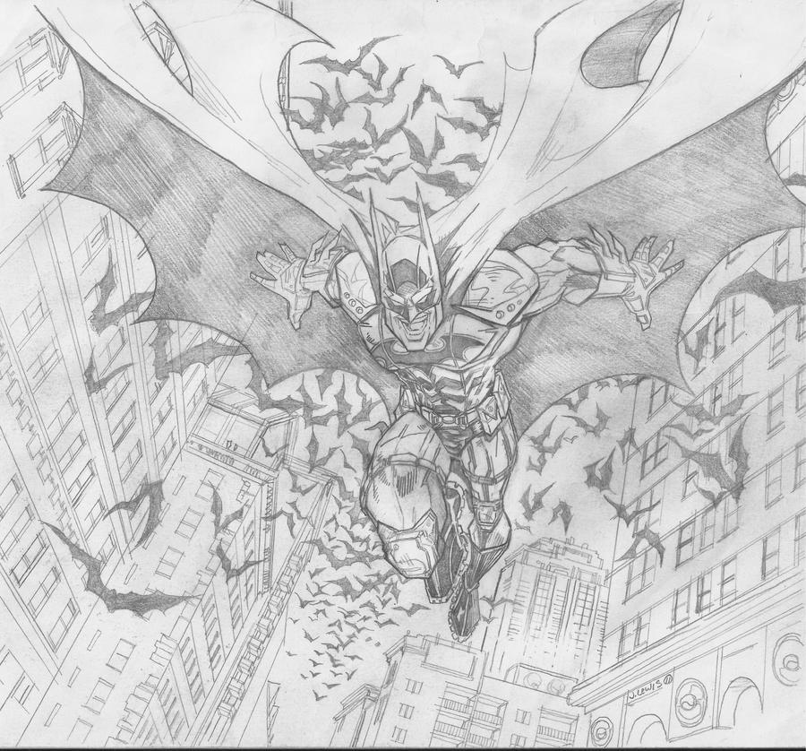 batman #2- fan art by apexabyss