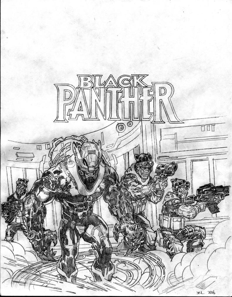 Black Panther fan art 1 by apexabyss