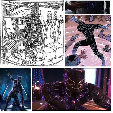 Black Panther Kinetic Energy Suit #3 2015 by apexabyss
