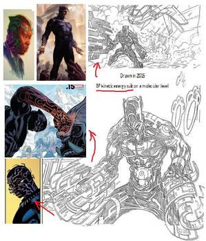 Black Panther Kinetic Energy Suit #4 (2015)
