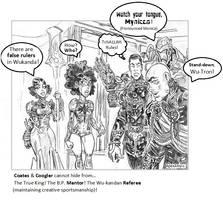 Wu-Kandan World Order Cartoon-Comic-strip #1