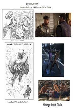 Emperor Shakka vs. Erik Kilmonger  W.W.O.