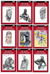 Black Panther Fan-Art Cards #2