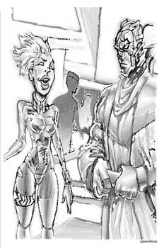 Storm and Black Panther #1
