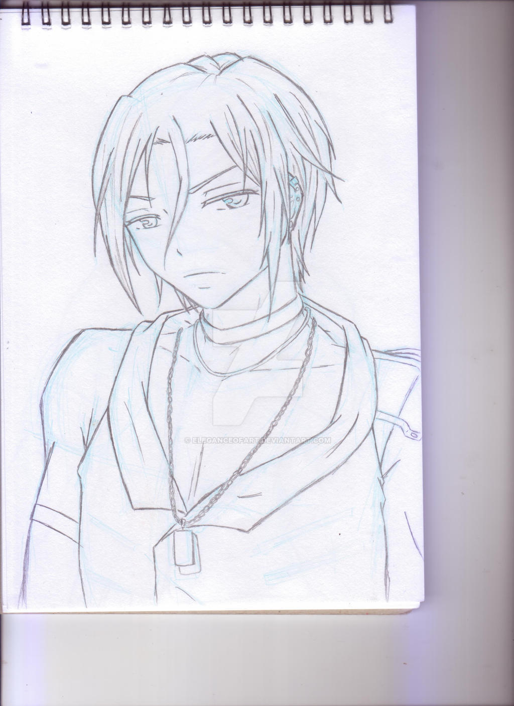 Free! Matsuoka Rin sketch~ by EleganceOfArt