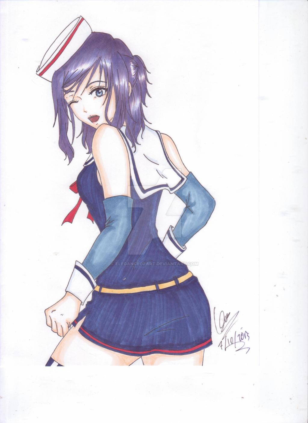 Sailor girl by EleganceOfArt