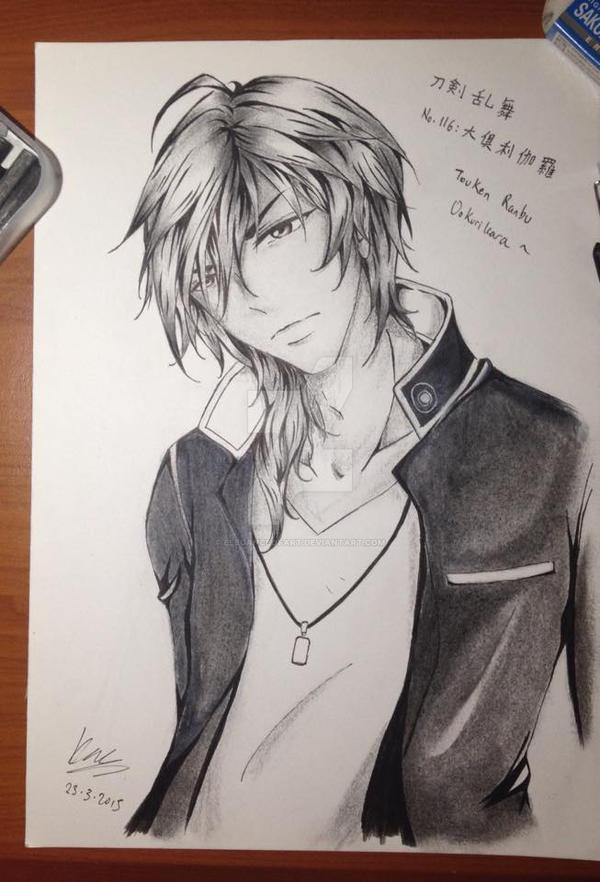 Touken Ranbu - Ookurikara fan art by EleganceOfArt