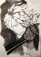 Touken Ranbu - Shishiou Fanart by EleganceOfArt