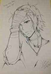 Katekyo Hitman Reborn - Gokudera Hayato Fan Art by EleganceOfArt