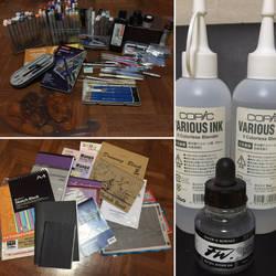 Tools of my trade (^-^)/*** by EleganceOfArt