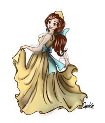 Princess Anastasia by aquilaenlever