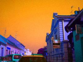 orange sky by carrolsmith