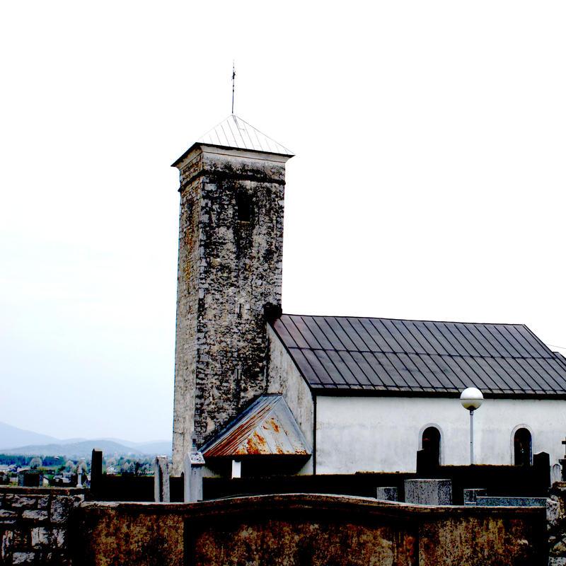 church and cemetery Ogulin by carrolsmith