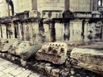 romans arhitecture Split city