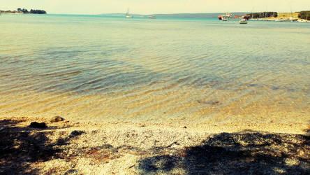 Mrljane beach, island Pasman, Croatia