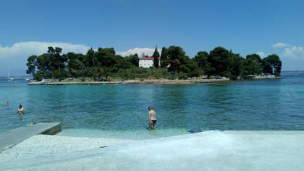 island Galevac, Preko city,island Ugljan, Dalmatia