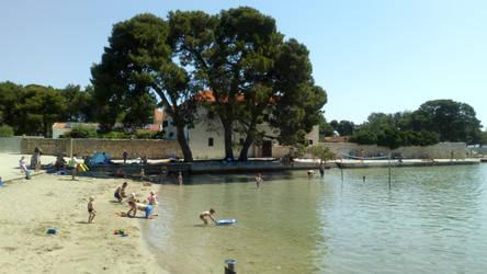 Mostir beach island Ugljan