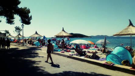 sweet summer days in Dalmatia, Croatia