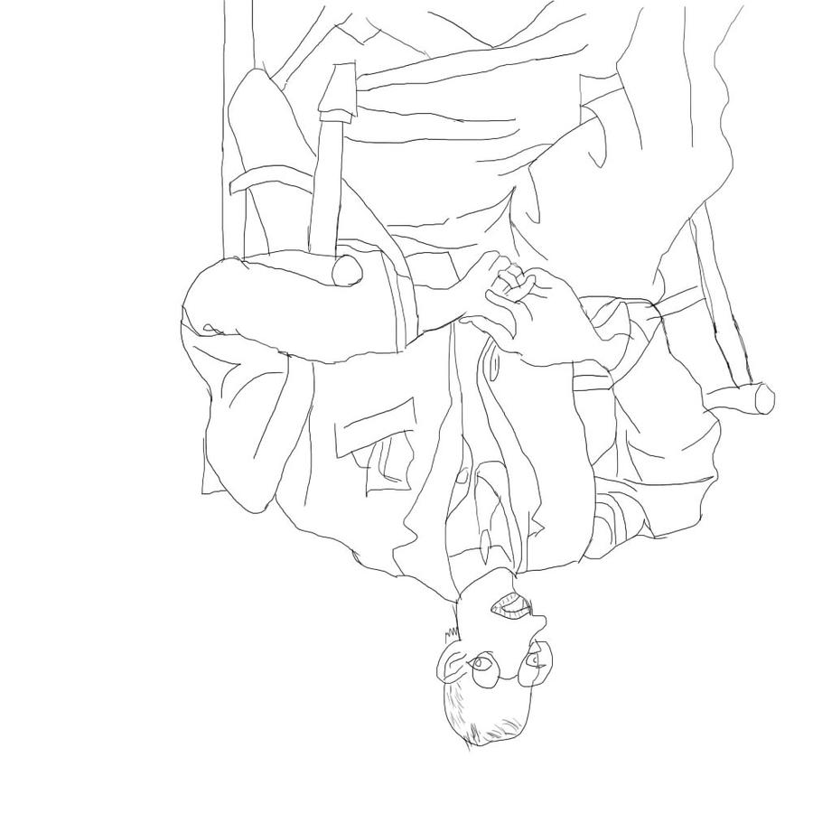 Line Drawing Upside Down : Upside down picasso drawing lesson by palinilap on