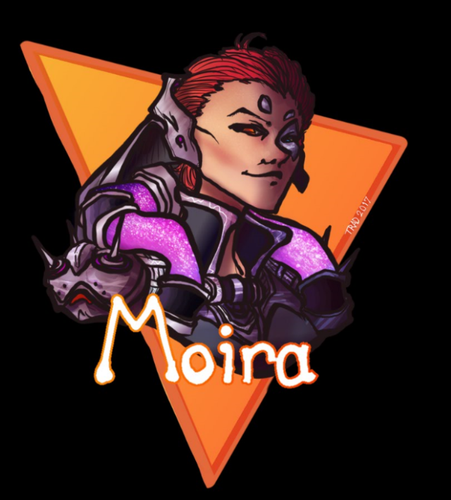 Moira T-Shirt Design by DefinitionJoker