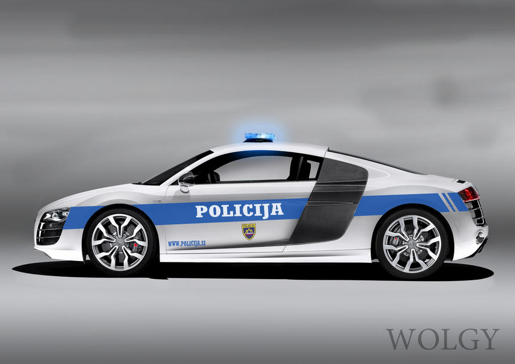 Audi R8 Police By Wolgy95 On Deviantart