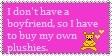 Boyfriends and plushies stamp by Mini-Wolfsbane