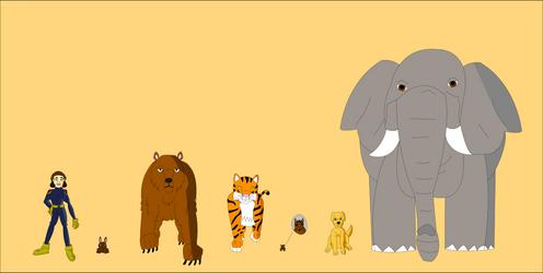 Creature: Animal Forms by Mini-Wolfsbane