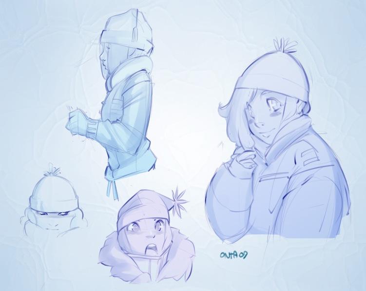 Snowsuits by hardblush