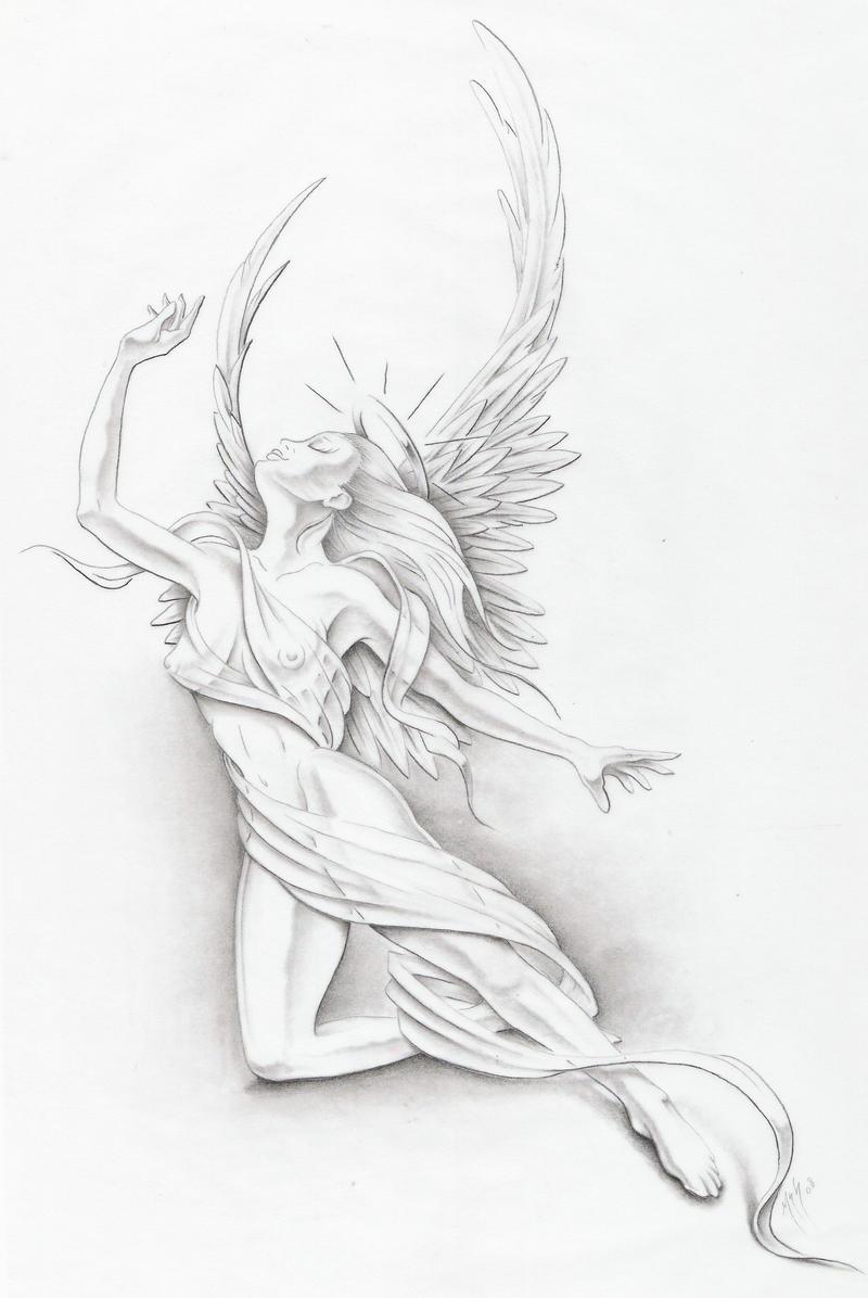 angel II by markfellows