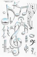 music symbols by markfellows