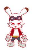 King Kazma avatar pixel animation by Acer0