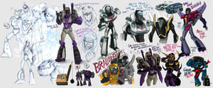 TF:Animated Sketchdump by rennerei