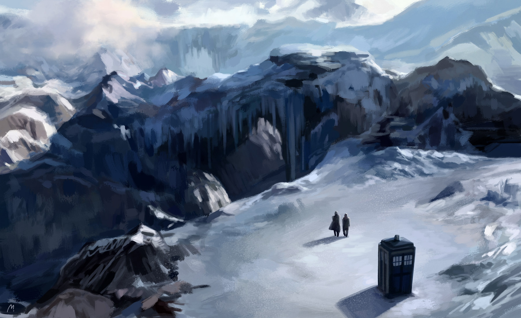 home is where the tardis by rennerei