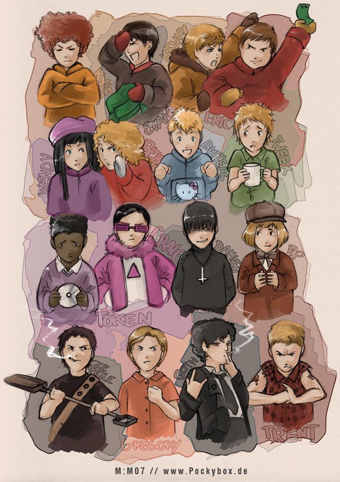 Personajes famosos en otras versiones (muy bueno)