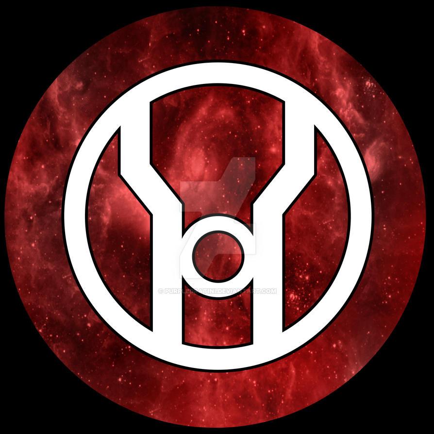 red lantern symbol by purpledratini on deviantart