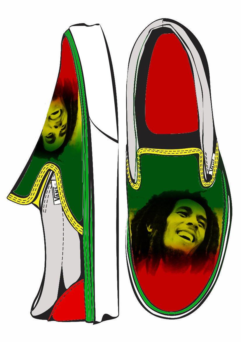 Rasta Marley Vans