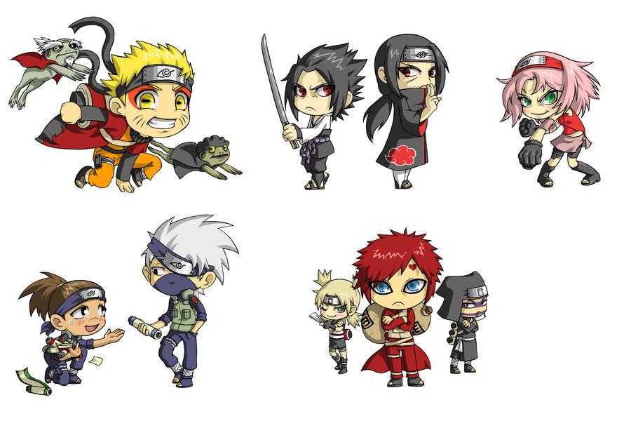 Amazoncom Naruto Chibi Sasukes Sharingan Legend Vol