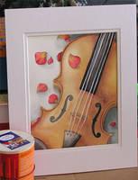 Violin by m3ru