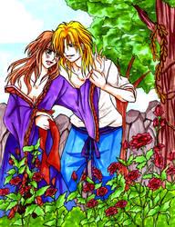 FY: Rose Garden by eyes2blues