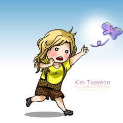Kim Taeyeon Butterfly